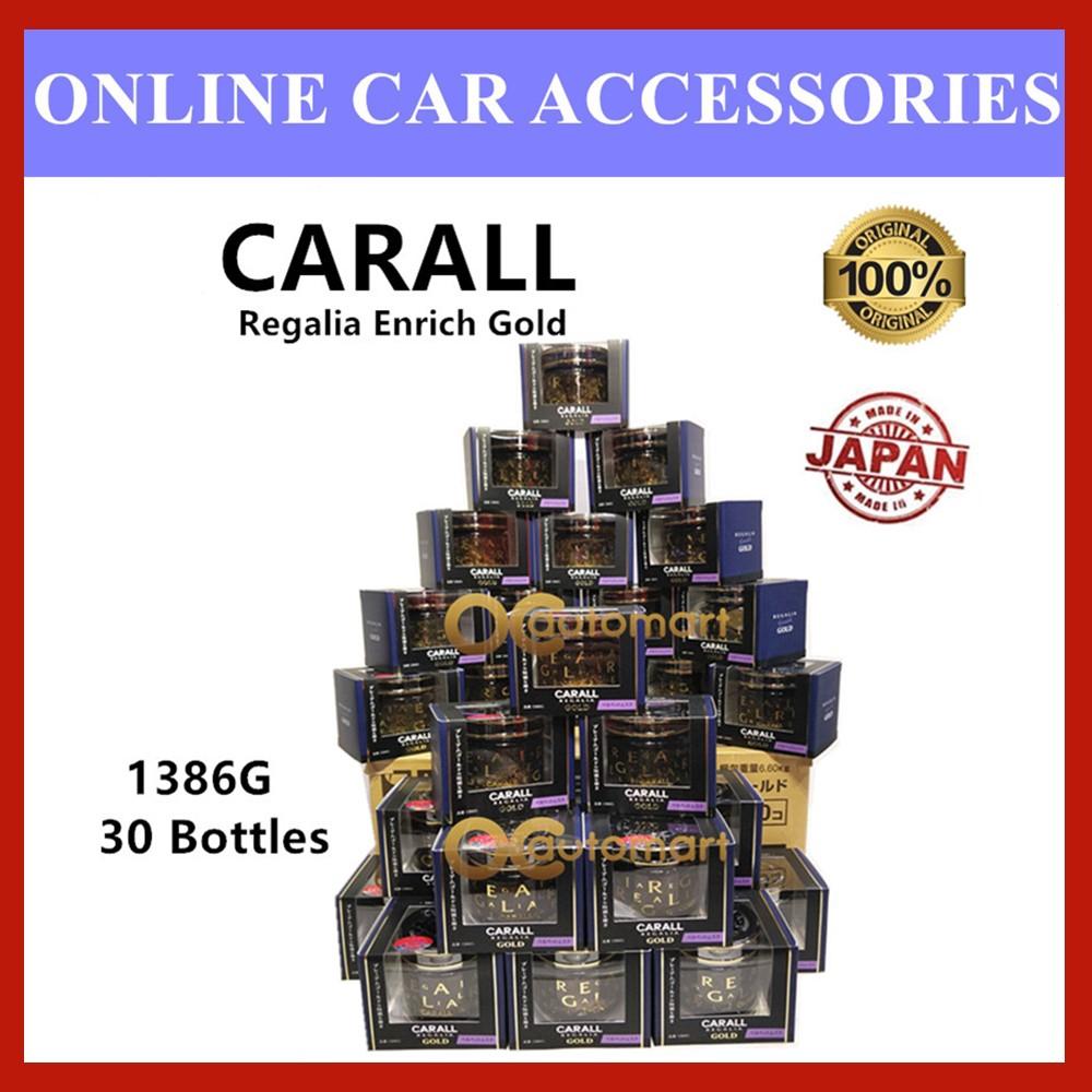 (Special Edition) CARALL Regalia Enrich Velvet Musk 1386G / 1386 G GOLD Series Air Refreshener 65ml 30pcs
