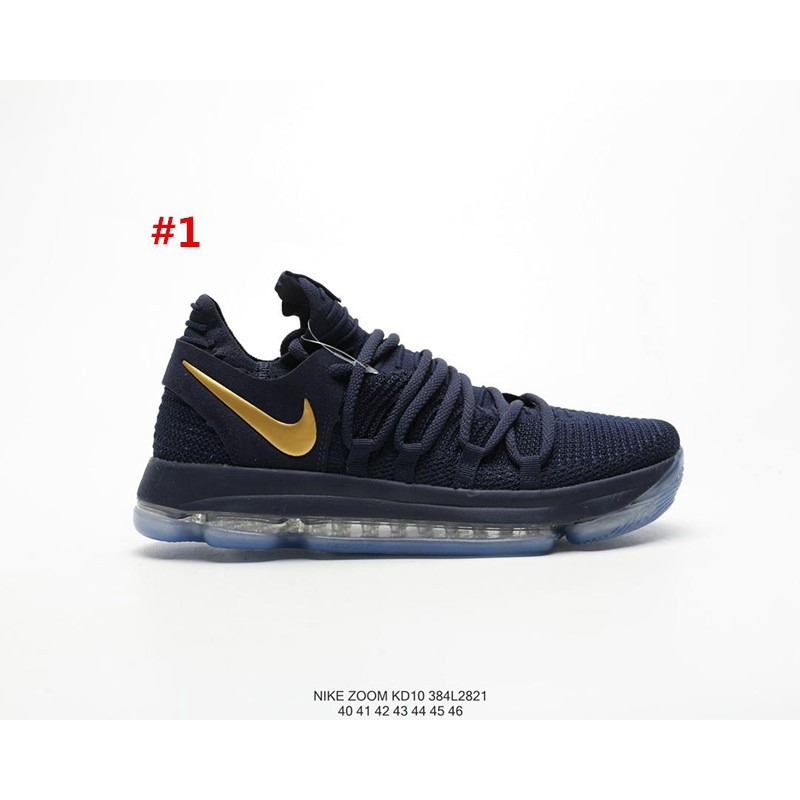 promo code cd2cf 308ce Nike Air Zoom Kevin Durant KD10 EP Low Help Game Sports Basketball Shoes  for Men's