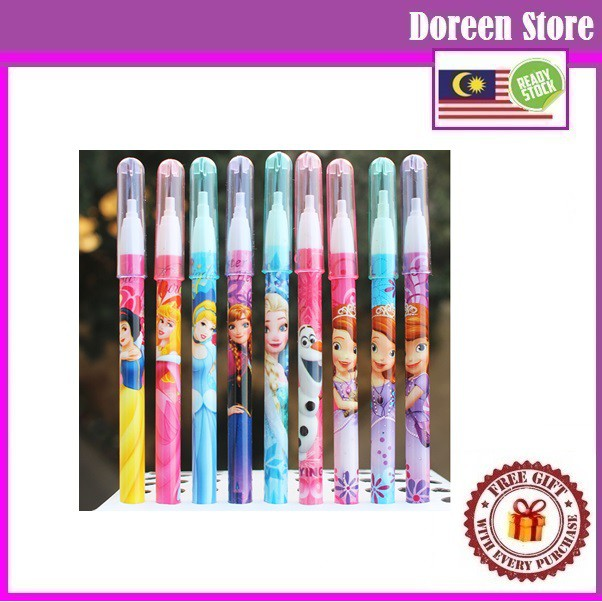 Stationery Multi Lead Pencil (3pcs/Pack) Mickey / Princess / Sofia / Frozen/ Barbie/ Panda