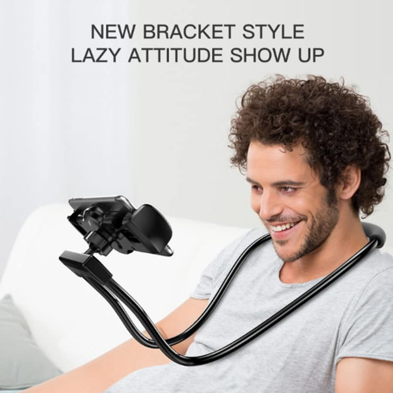 Flexible Mobile Phone Holder Hanging Neck Lazy Bracket Smartphone Holder Stand