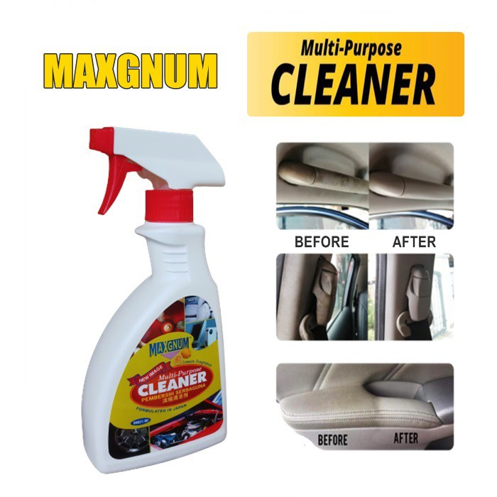 Multi-purpose Car Cleaner Long Lasting Fresh Fast Powerful Odor Dirt Stain Remover