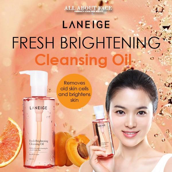 Fresh Brightening Cleansing Oil 250ml