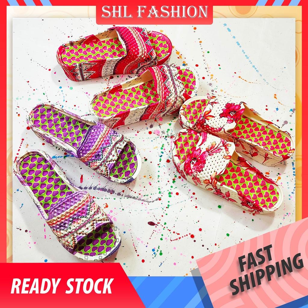 SHL Eva Slipper Women Soft Slipper Home Slippers Thick Soled Indoor Sandals House Slipper