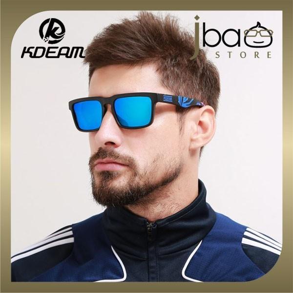 KDEAM Polarized Sunglasses Men Outdoor Sport Cycling KD901P-C22
