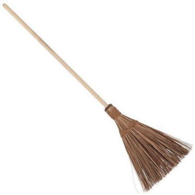 Penyapu lidi bertangkal berhulu | coconut leaf broom with handle | | Shopee  Malaysia