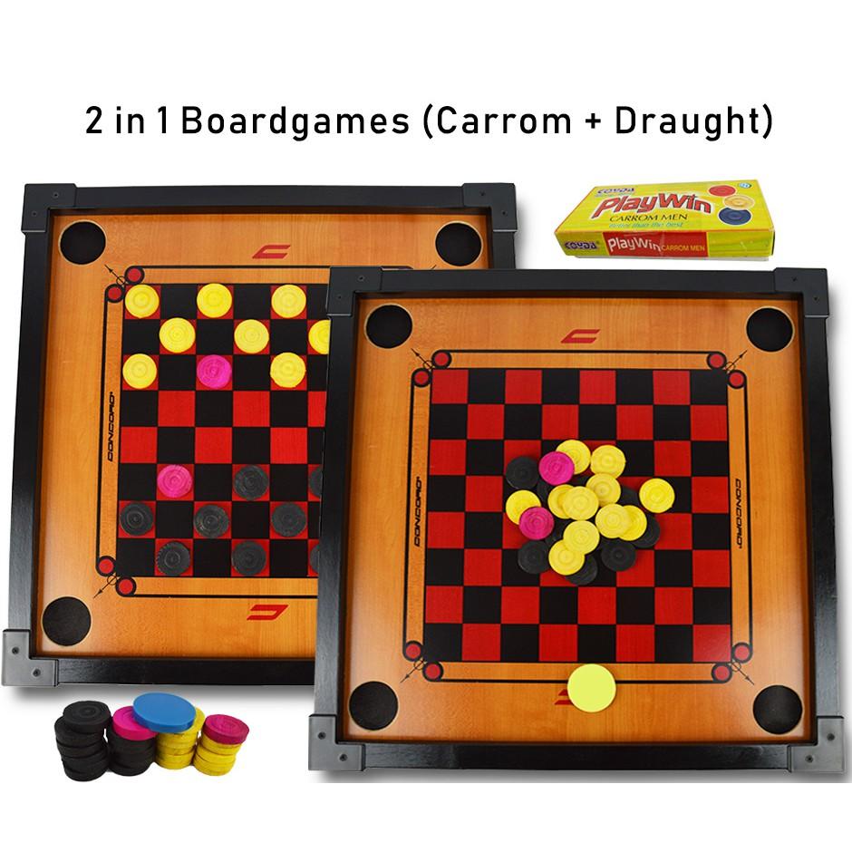 Standard Size Carrom Tournament Striker Set Of 12