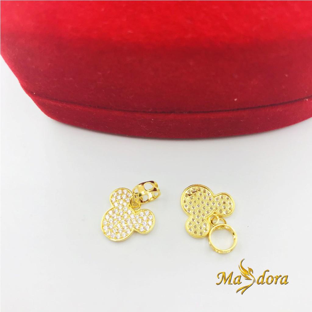 Masdora Charms and Beads Emas ~ Wonderland Series (Emas 916)