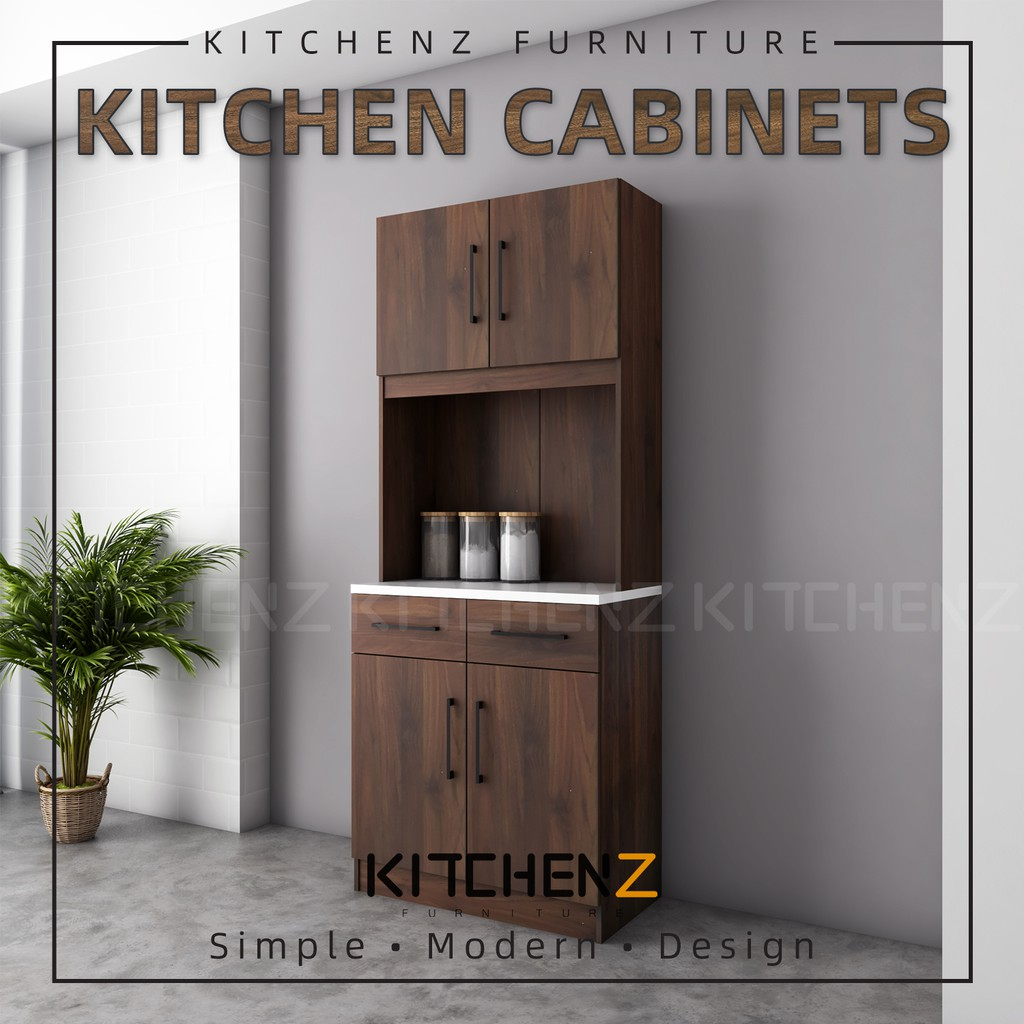 KitchenZ Ventura Series Kitchen Cabinets Tall Unit ...