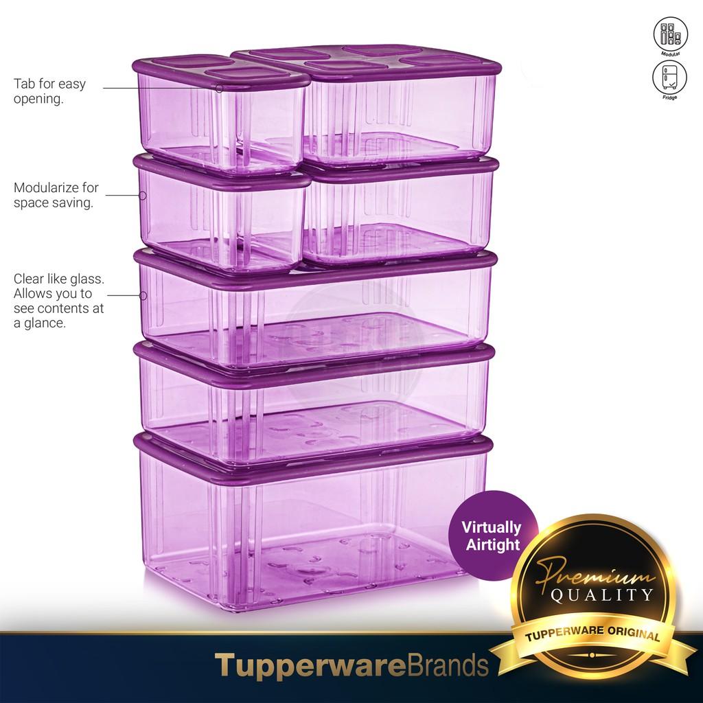 《READY STOCK !!!》Tupperware Rectangular Clearmate Set / Fresh N Clear Set / Fridge Set Keeper / Fresh N' Clear Large Set