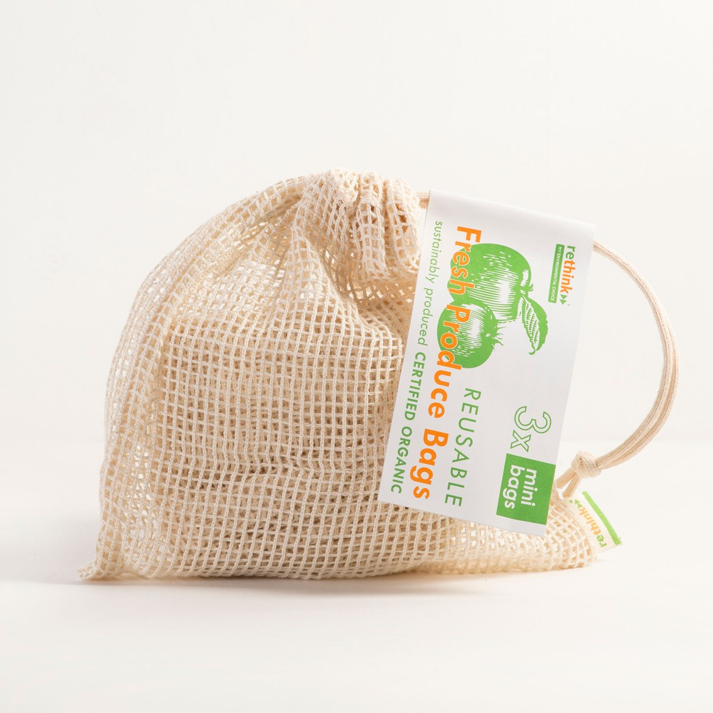Rethink Fresh Produce Bags - Minis Small 3Pcs