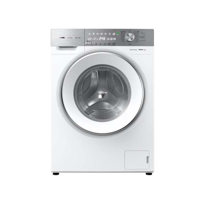 Panasonic 10KG (Ready Stock+ Shipping In MCO Period)Front Load Washer NA-120VG6 (ActiveFoam System)