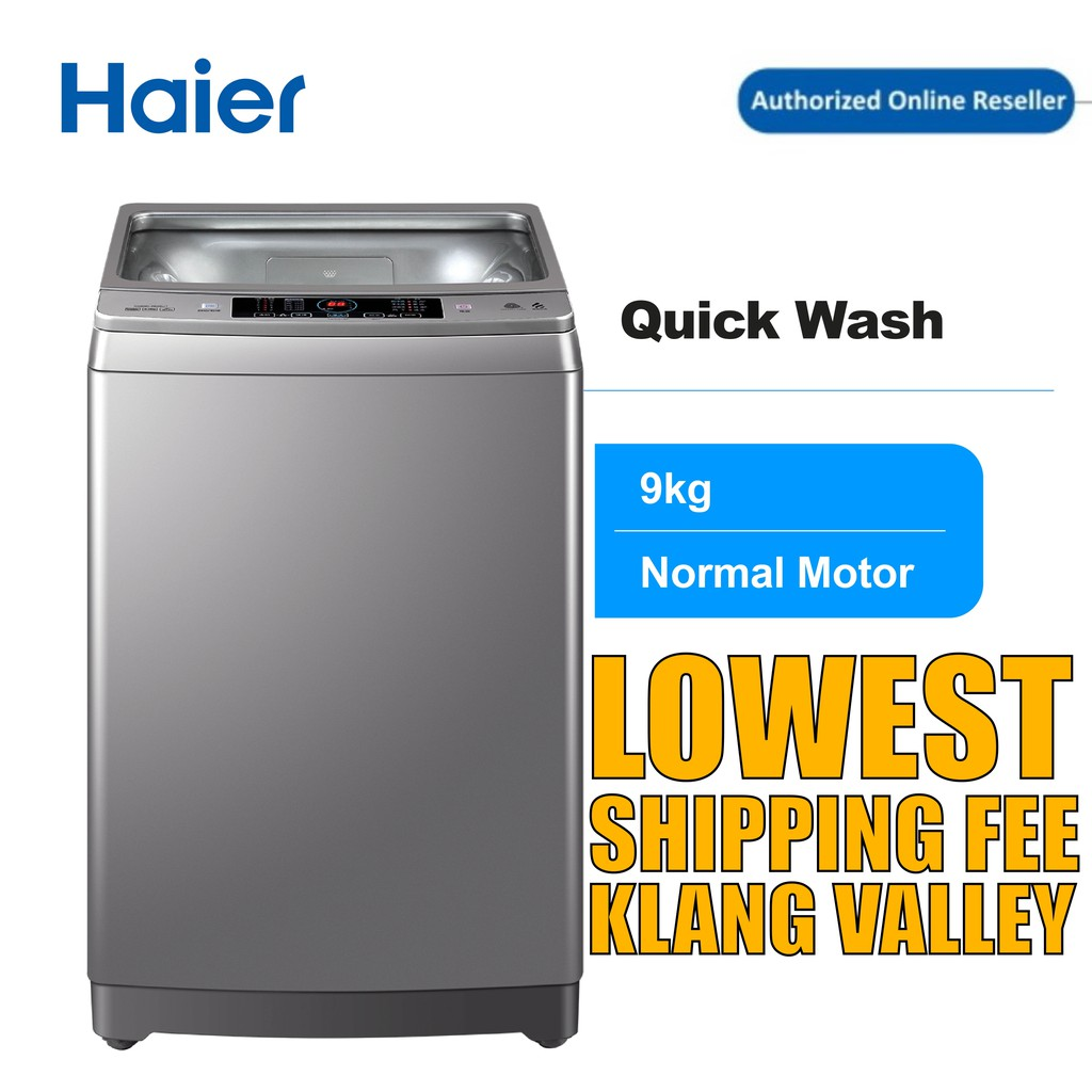 Haier HWM90-M826 9KG  Washing Machine with Top Load , Fully Auto , Quick Wash