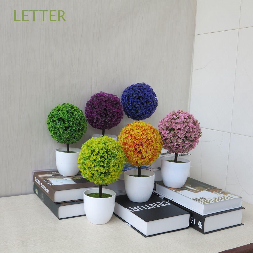 Shopee Malaysia & Vivid Office Decoration Home Decor Lotus Bonsai Artificial Plants