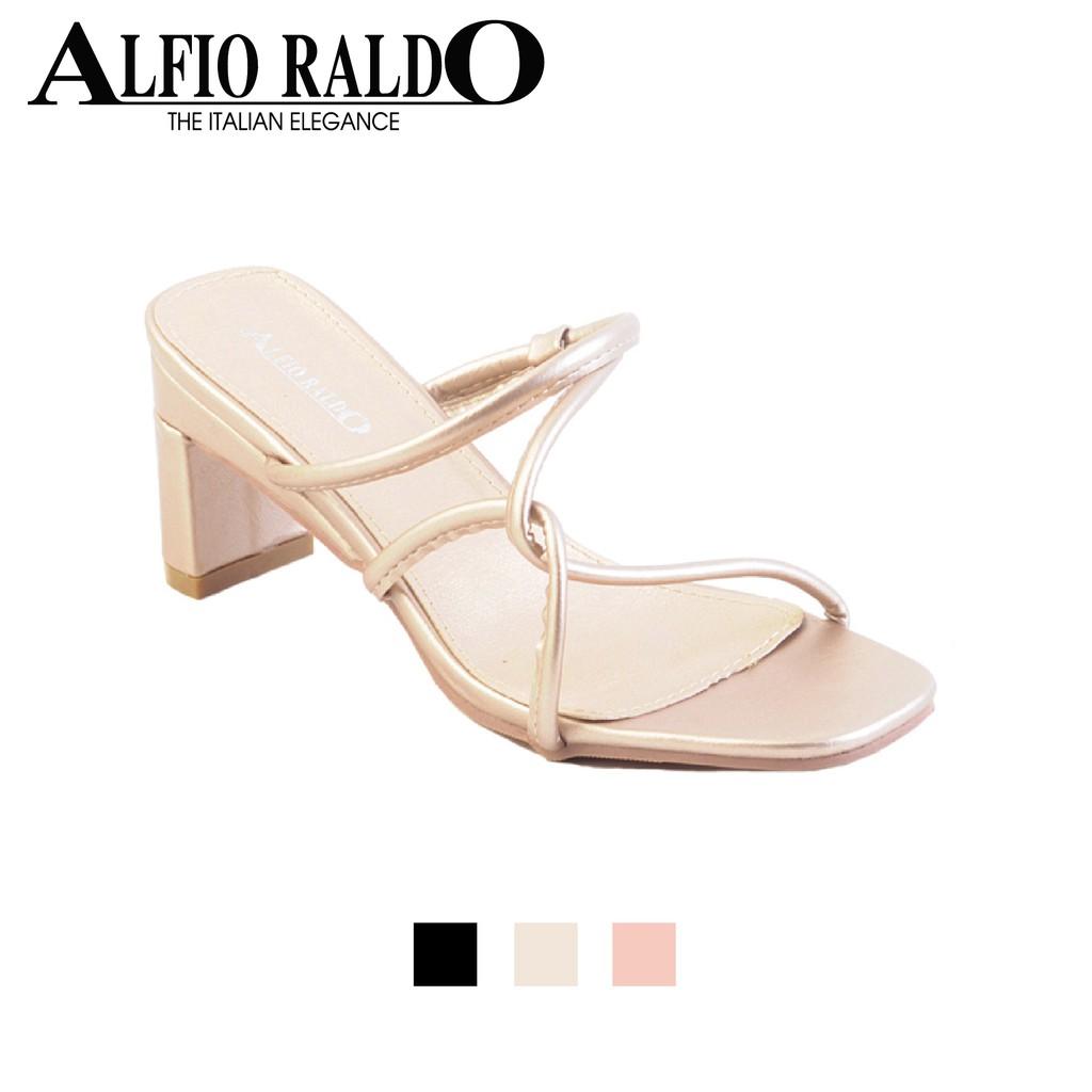 10a7383fb92b Alfio Raldo Vintage Embroidered Cut Out Block Heel -SL-12650 ...