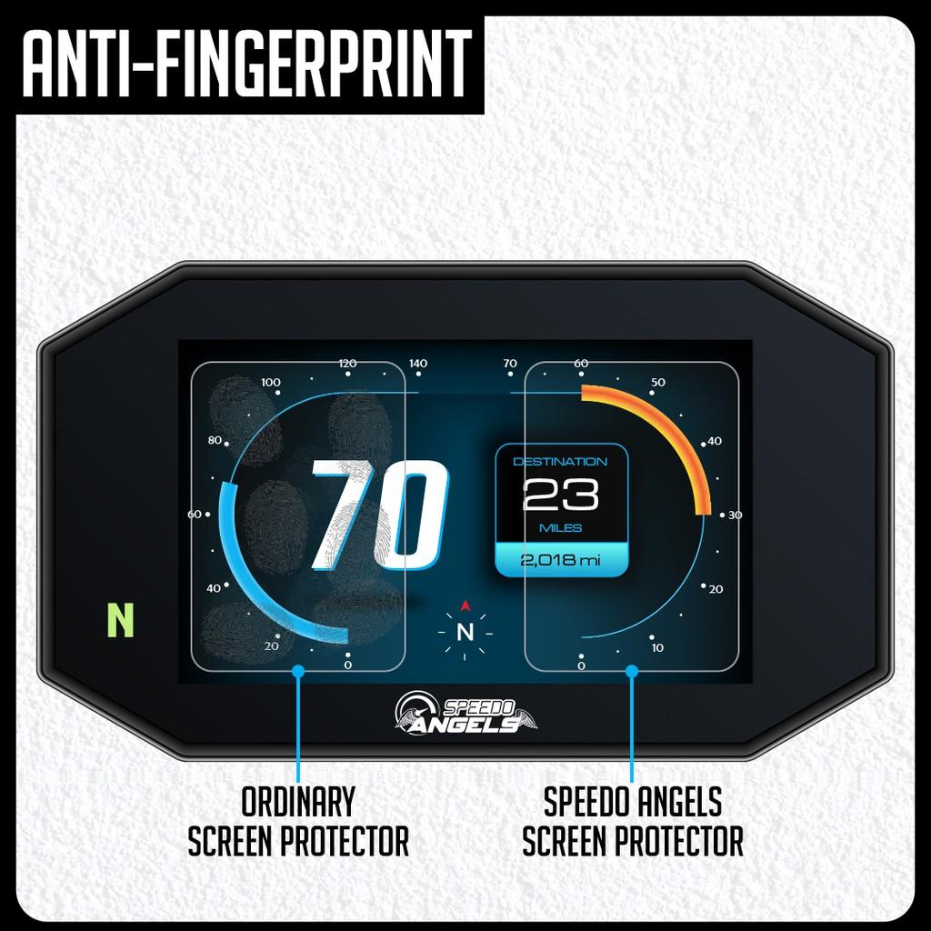 Speedo-Angels 4 x Ducati Multistrada 950//1200//1260 2015 Dashboard//Instrument Cluster Screen Protector 2 x Ultra-Clear /& 2 x Anti-Glare