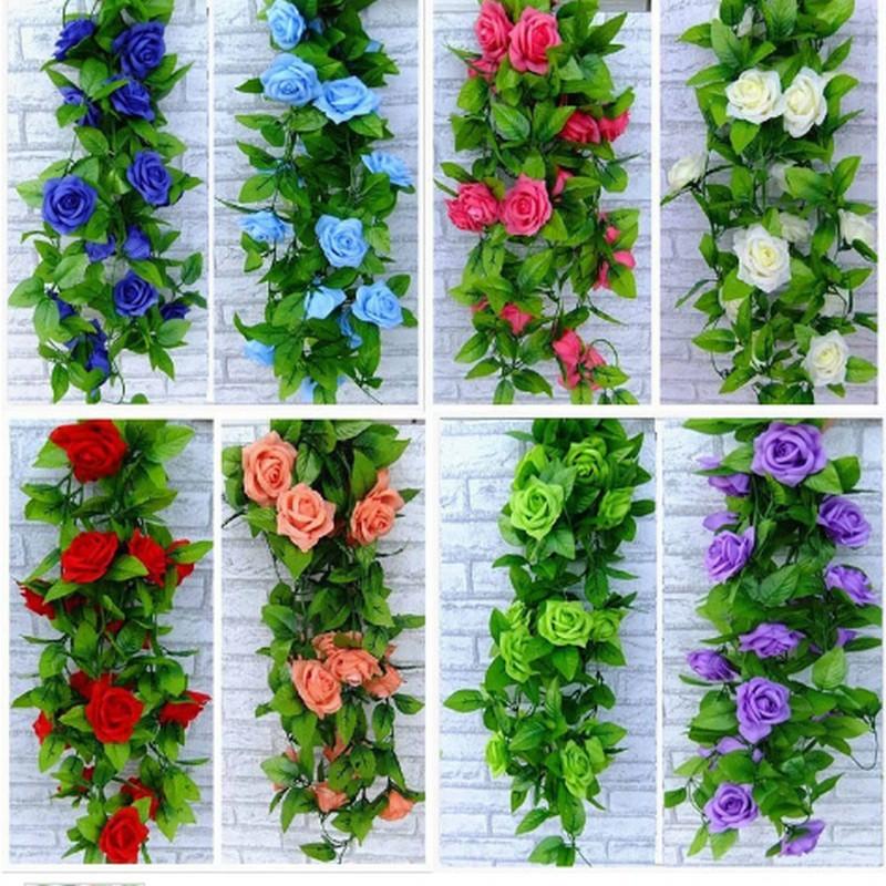ดอกไม้ประดิษฐ์ผ้าไหมสำหรับตกแต่งบ้าน 2.5