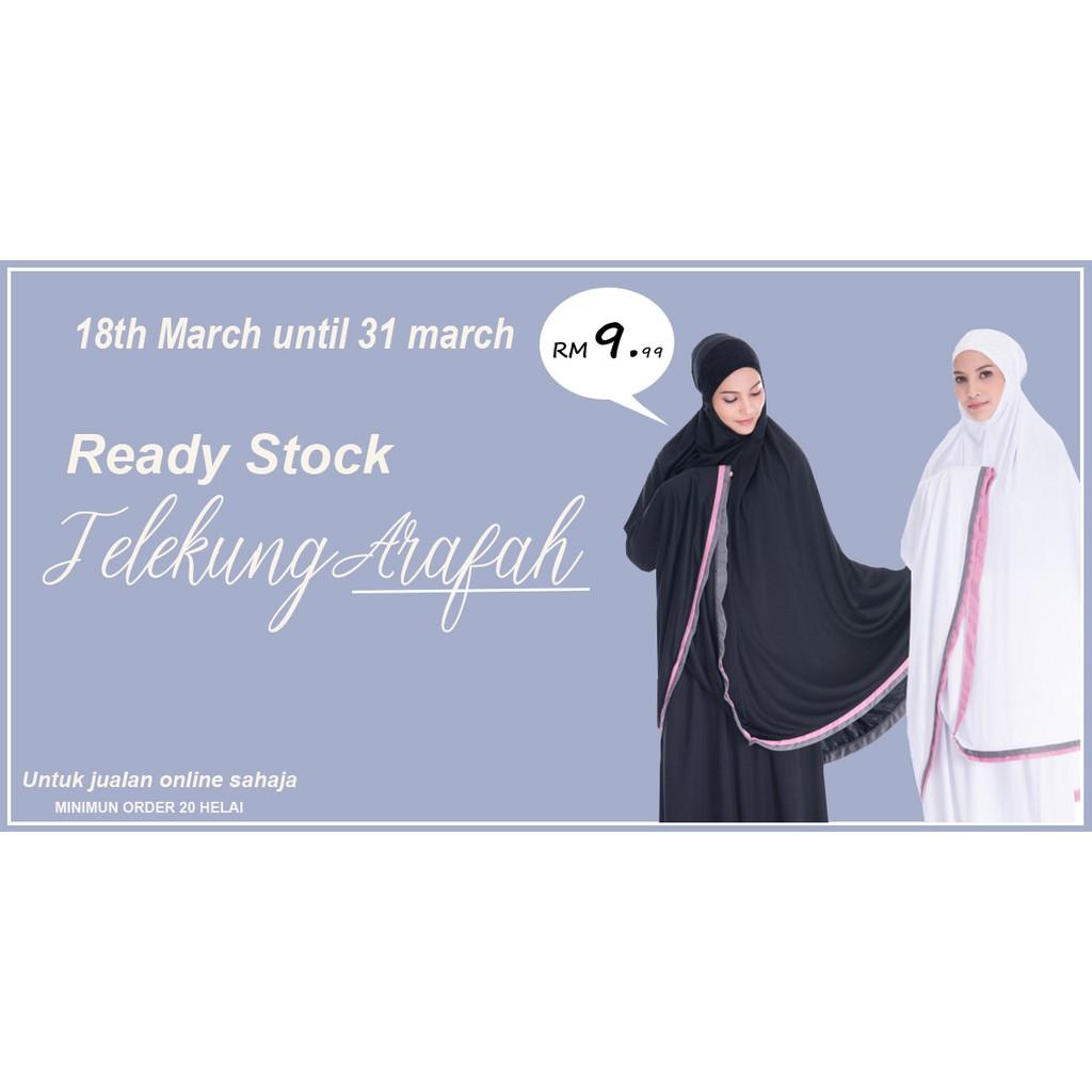Borong 20Pcs Telekung Arafah RM9.90!!!