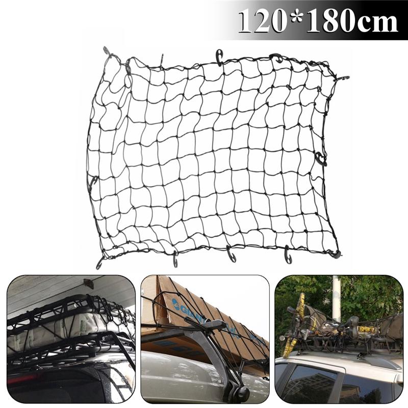 2x Elastic Net String Bag Sundries Storage Seat Back Organizer Fixed For Car Van