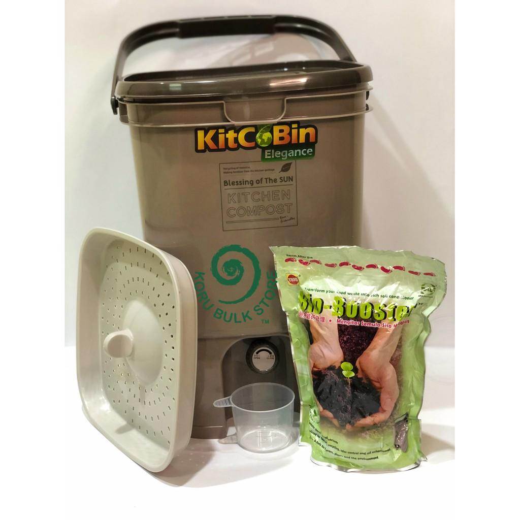 NewTrio KitcoBin - Bokashi Bin 20L + Bokashi Powder 1kg