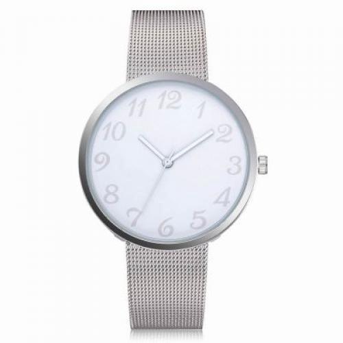 c3ecec22ea5 Lvpai P400 Women Quartz Wrist Watch Mesh Alloy Band Analog (WHITE ...
