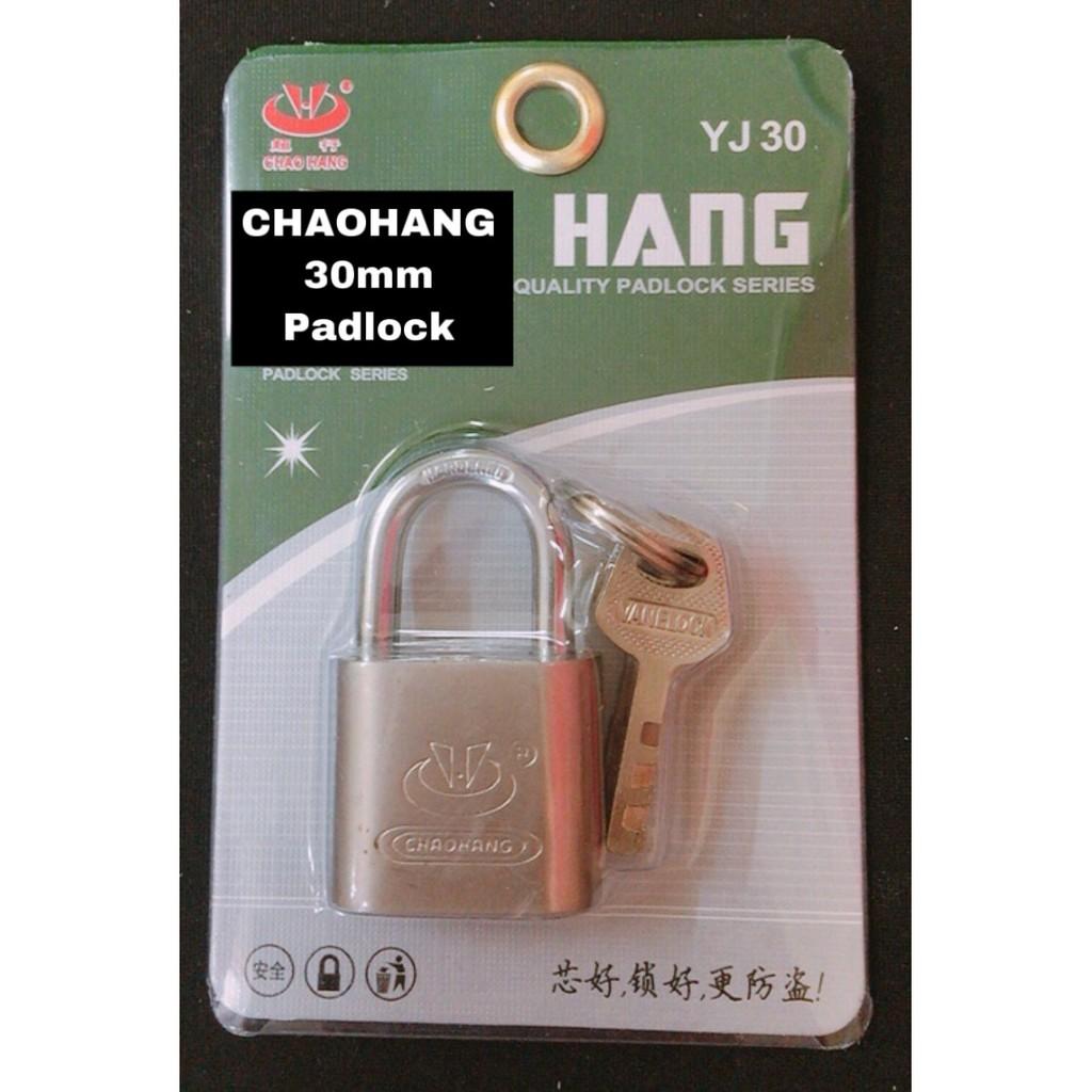 CHAOHANG Heavy Duty Brass Laminated Anti Rust Pad Lock Premium Quality Lock YJ30
