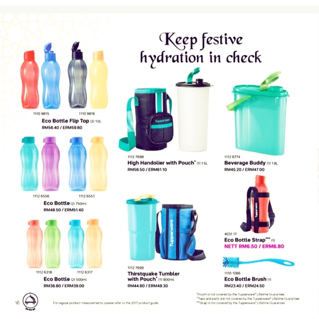 Botol Air Tupperware 1 Liter 4warna Boleh Pm Untuk Harga Yang Menarik Shopee Malaysia