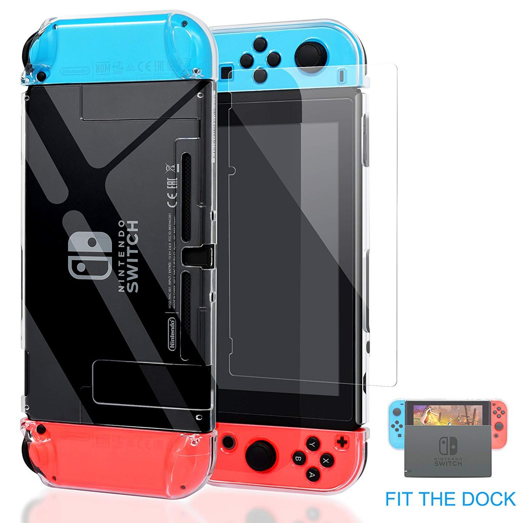Nintendo Switch Crystal Case Set Hard Cover