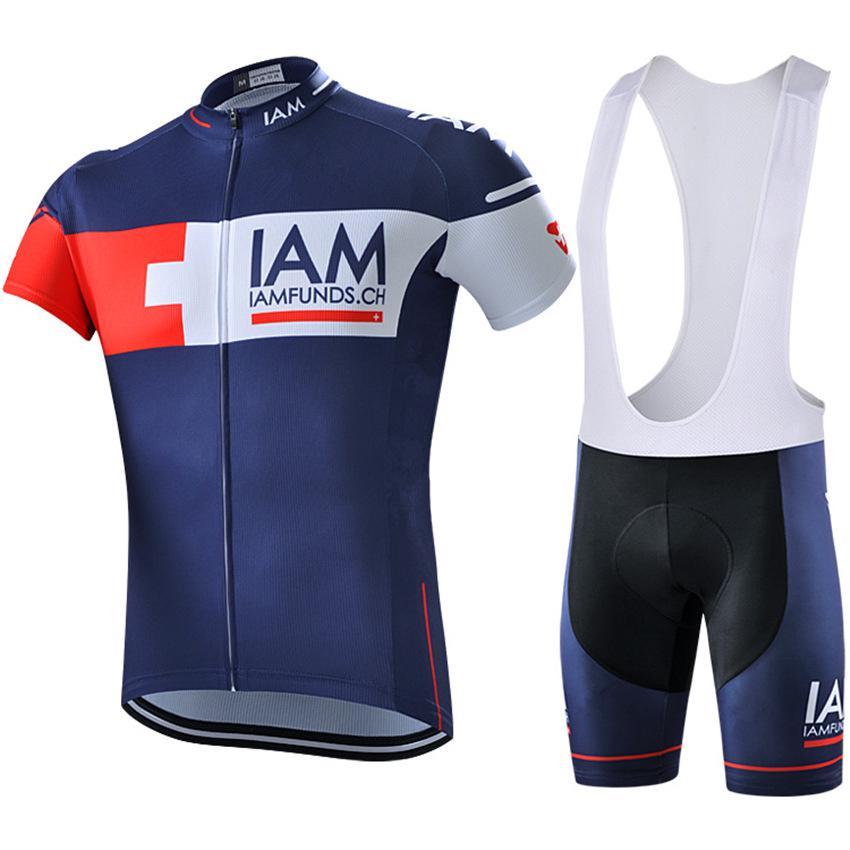 Men Bike Sportwear Cycling Jersey Pants Kits MTB Road Cycle Jackets Tights Sets