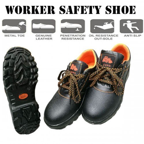 0794b842cbb Midsole Steel Toe Cap Low Cut Industrial Safety Shoe Worker Shoe Kasut Kerja