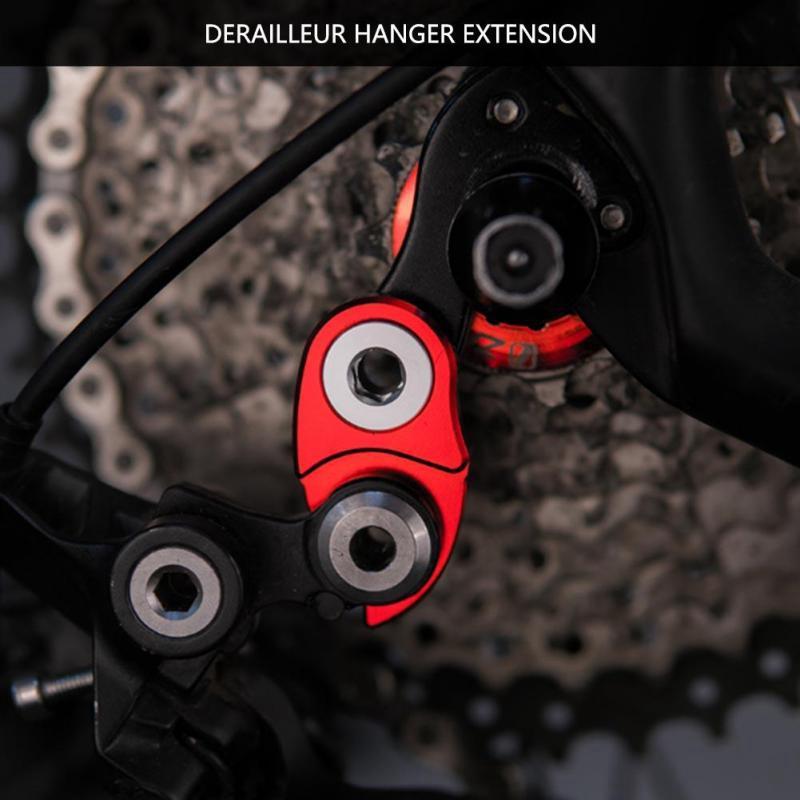 MTB Road Bicycle Rear Derailleur Hanger Extension Frame Gear Tail Hook Extender