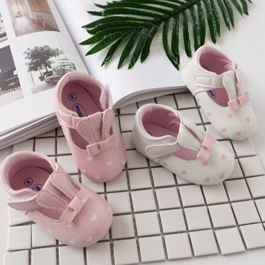 First Walkers Mother & Kids Amicable Summer Princess Baby Girls Shoes Floral Bowknot Slip-on Crib Sneakers Soft Sole First Walkers Newborn Infant Toddler
