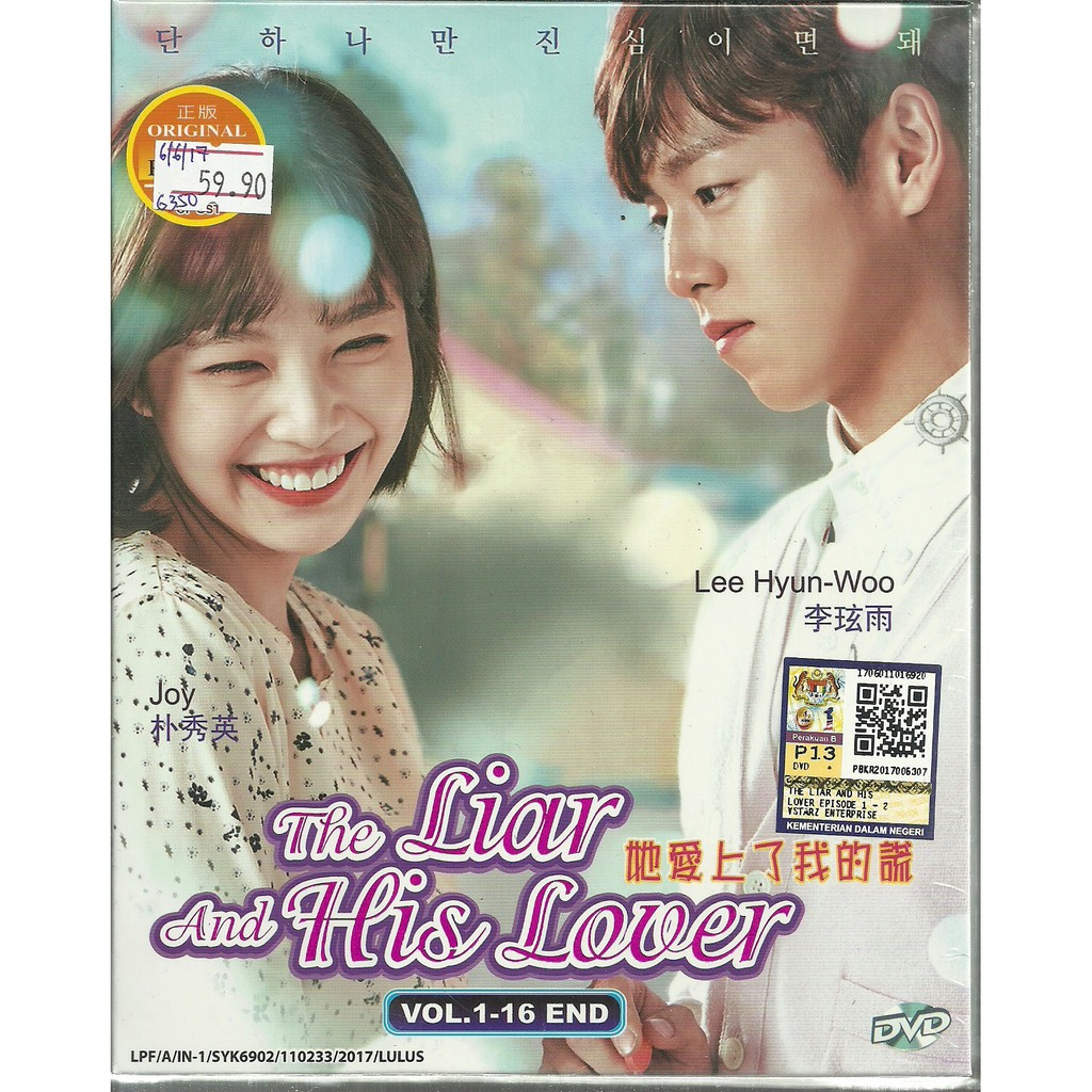 THE LIAR AND HIS LOVER - COMPLETE KOREAN TV SERIES DVD BOX SET (1-16  EPISODES)
