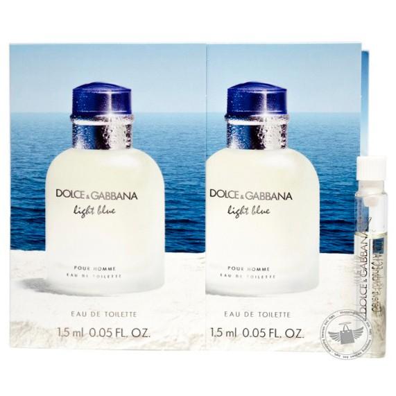c5cc0b3ca7441e Dolce   Gabbana Light Blue Pour Homme 1.5ml Edt   Shopee Malaysia