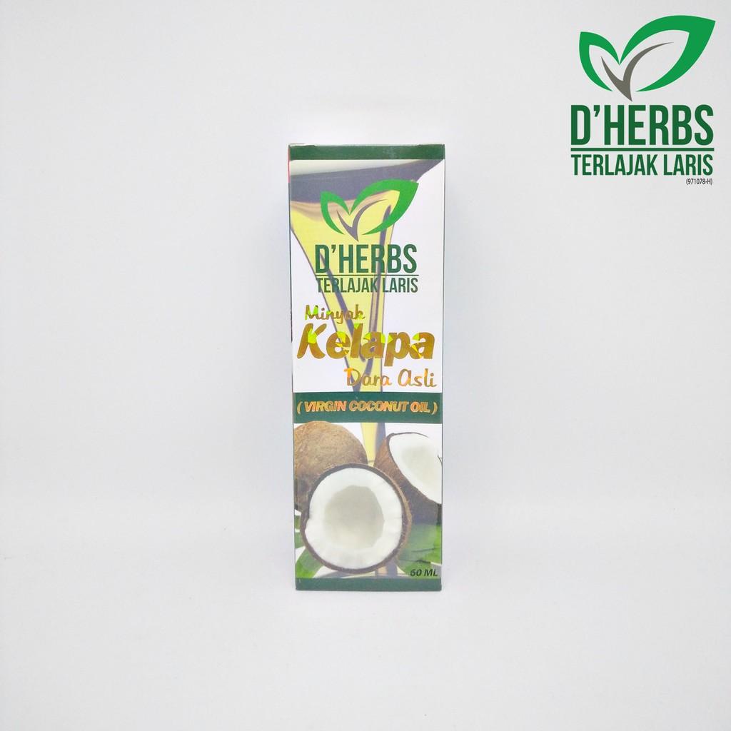 [D\'HERBS] Minyak Kelapa Dara Asli (Virgin Coconut Oil) - 60ml