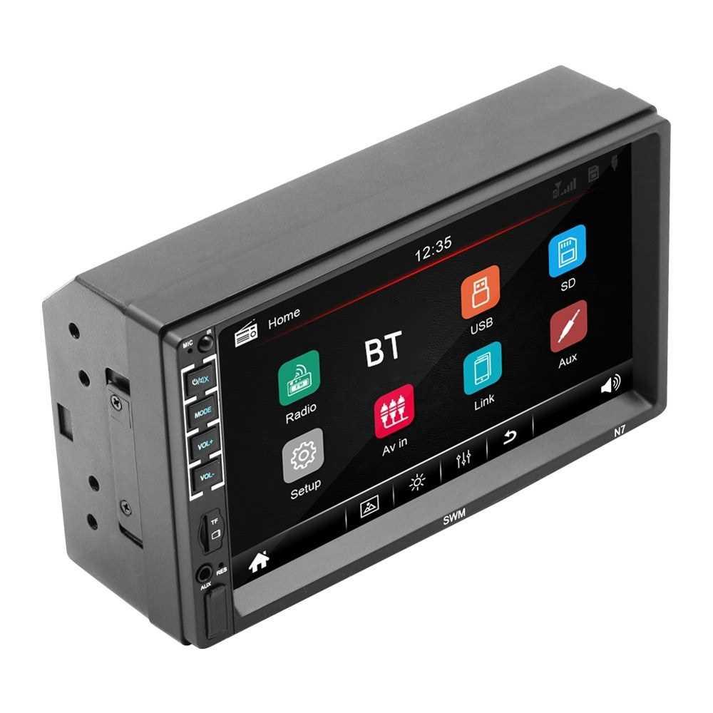 N7 Car Radio 7inch Bt Stereo Multimedia Player Touched Screen Autoradio FM AUX Audio HeadUnit MP5 Player Steering Wheel
