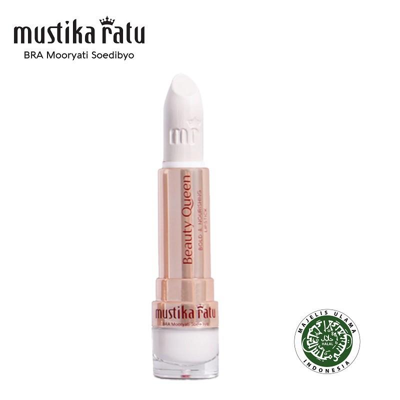 Mustika Ratu Beauty Queen Bold & Nourishing Lipstick - 05 White (4g)