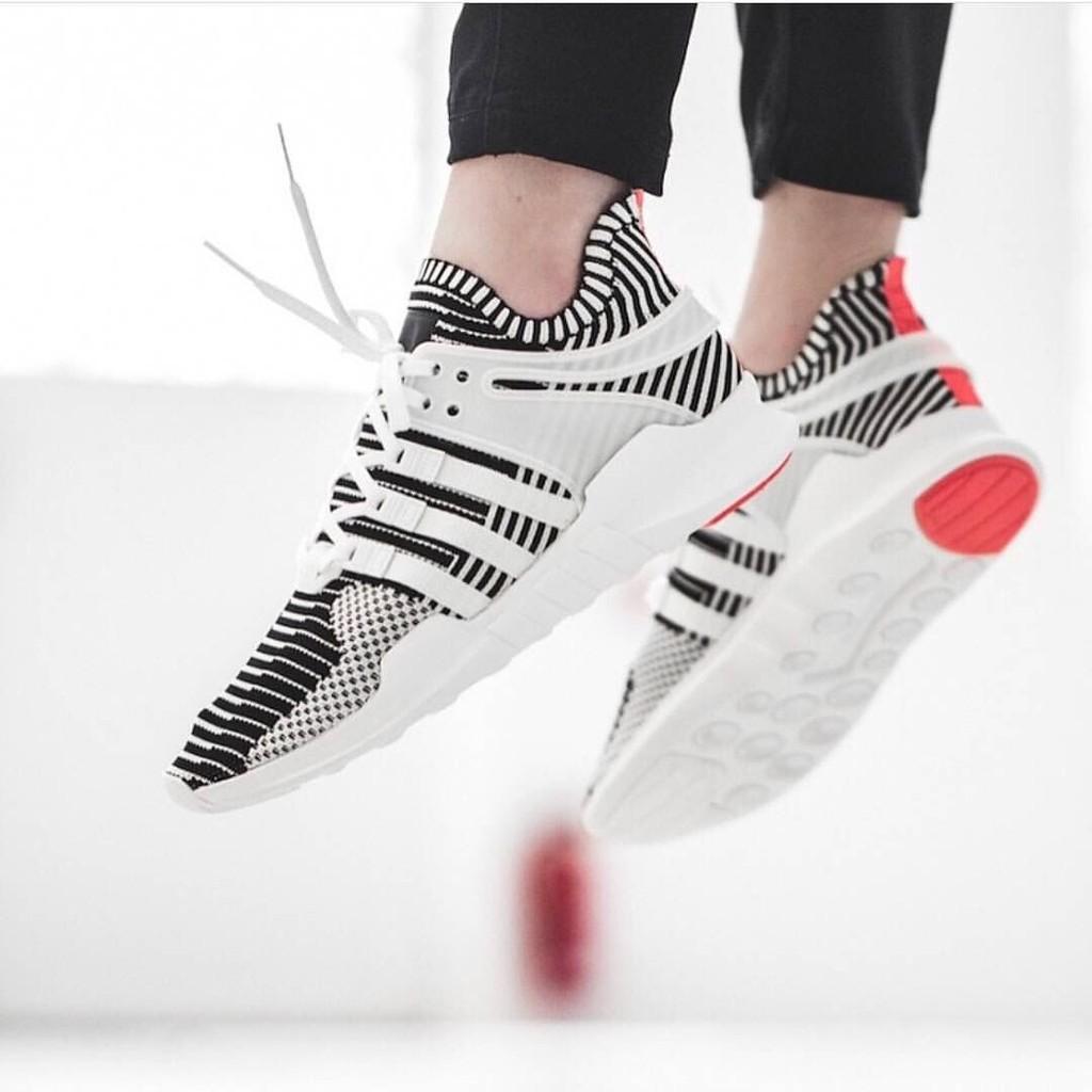 big sale d0afc ac463 【shoes.my】Authentic Adidas EQT Support Adv Pk zebra Men women leisure shoes
