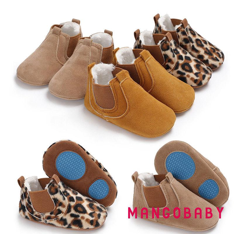 Toddler Newborn Baby Boy Girl Leather Soft Sole Crib Shoes Sneakers Prewalker UK