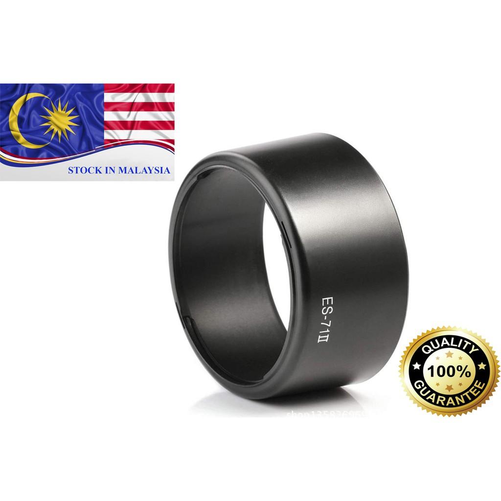 ES-71 II ES71 II Lens Hood For Canon EF 50mm F1.4 USM (Ready Stock In Malaysia)