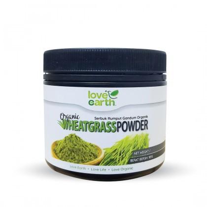 Love Earth Organic Wheatgrass Powder 185g 乐儿有机小麦草粉 185公克 (罐装)