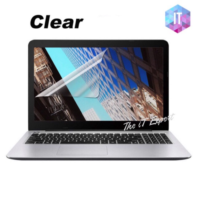 Universal 14 15 17 Inch Clear Screen Protector Compatible All Brand  Notebook/Laptop