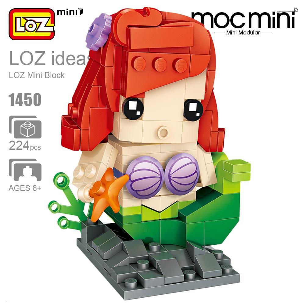 Winnie the Pooh Brick Headz Loz Mini Blocks Collector Desktop Toy NEW Disney