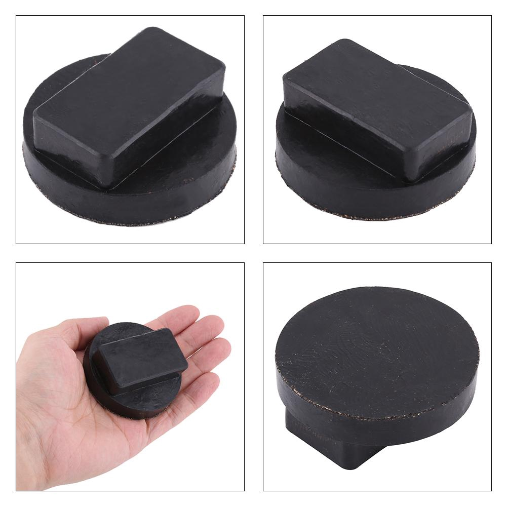 Rubber Jack Pad Car Frame Rail Protector Jack Support Pad Adapter Aramox Jack Rubber Pad