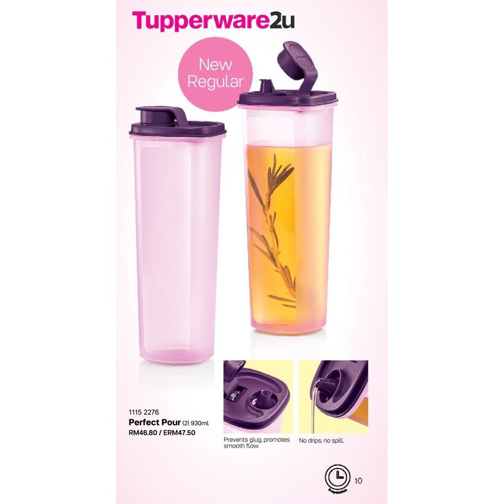 (New)(Ready stock) Tupperware Perfect Pourer, 930ml (2 pcs) (last 2 sets)