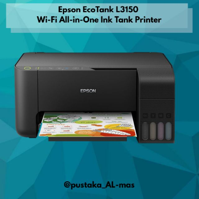 Epson EcoTank L3150 Wi-Fi All-in-One Ink Tank Printer