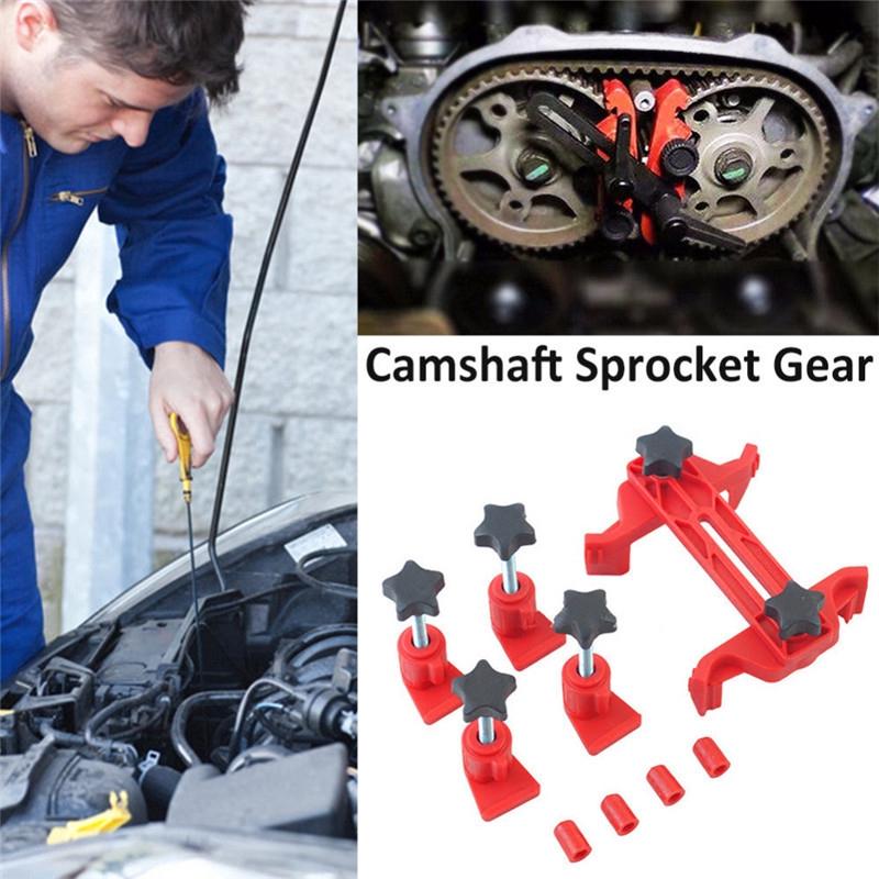 5x Car Cam Locking Universal Timing Holder Camshaft Engine Sprocket Gear Kit LC
