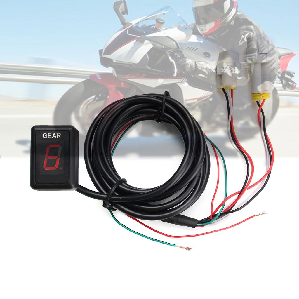 Motorcycle Gear Indicator For Yamaha YZF-R1 YZF-R6 Xt660 Fz6 Fz-16 Fz1 Fz8