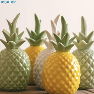 hot sale online 3ce65 0bcb4 Style ceramic pineapple ornaments living room home accessories coffee table  deco