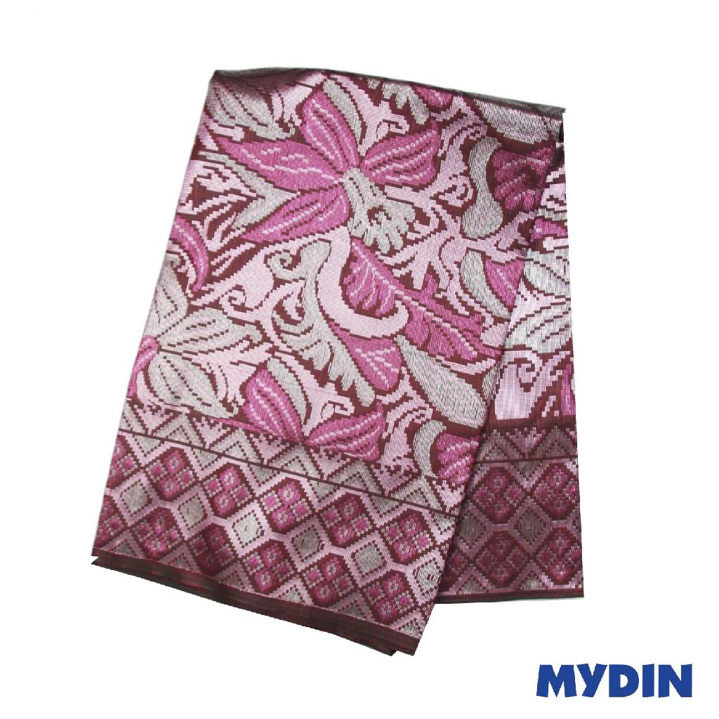 "Men Sampin - Magenta On Indigo with Designs (2.25m X 36"") 0819PECDD01 #Raya"