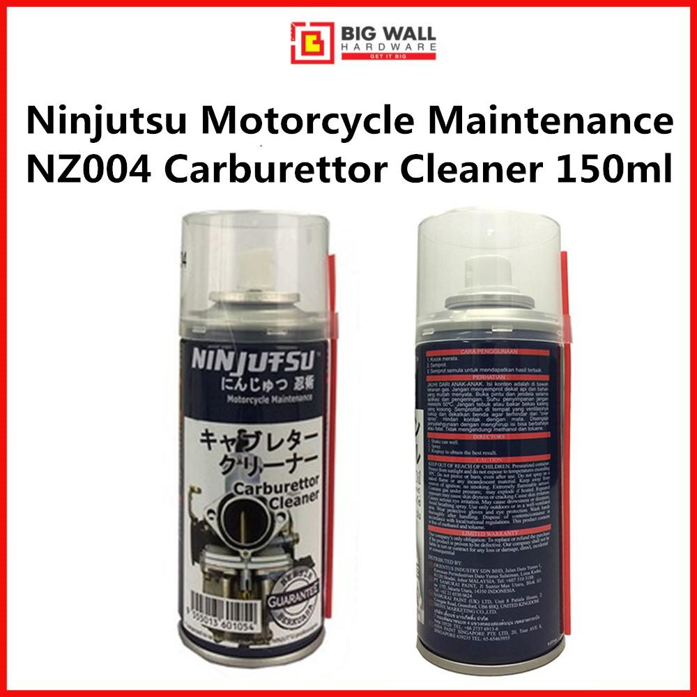 Samurai Ninjutsu Motorcycle Maintenance NZ004 Carburettor Cleaner 150ml *Pembersih Karburator